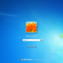 Schermata di Log On Amministratore di Windows 7